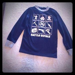 Fortnite  battle royale boys pajama top size 6